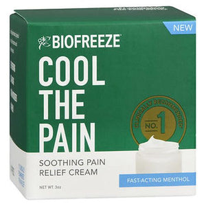 Biofreeze Soothing Pain Relief Cream 3 Oz by Biofreeze (4754229592149)