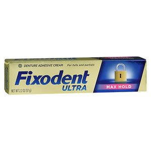 Fixodent Ultra Denture Adhesive 2.2 Oz by Fixodent (4754230607957)