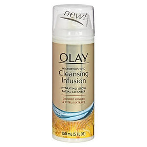 Olay Cleansing Infusion Hydrating Glow Facial Cleanser Crushed Ginger & Citrus Extract 5 Oz by Olay (4754234441813)