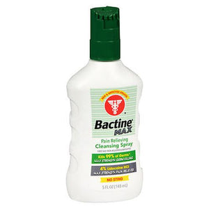 Bactine Max Pain Relieving Cleansing Spray 5 Oz by Bactine (4754237882453)