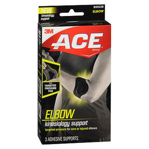 ACE Kinesiology Elbow Support  3 Each by 3M (4754240700501)