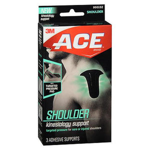 Ace Kinesiology Shoulder Support 3 Each by 3M (4754240766037)