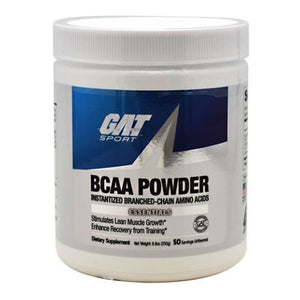 BCAA Powder Unflavored 8.8 oz by German American Technologies (4753958371413)