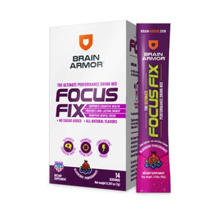 Focus Fix Tablets Blueberry Pomegranate 14 Count by Brain Armor (4754018762837)