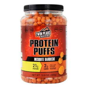 Protein Puffs Mesquite Barbeque 10 Each by Twin Peaks Ingredients (4754032951381)