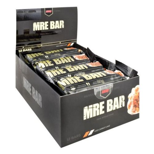 MRE Bar Iced Carrot Cake 12 Each by Redcon1
