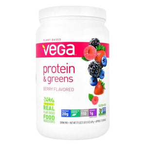 Protein & Greens Berry 1 lb by Vega (4754036490325)