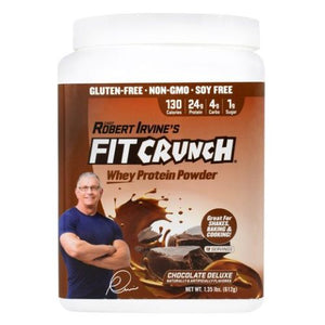 Fit Crunch Whey Protein Powder Chocolate Delux 18 Servings by Fit Crunch Bars (4754037538901)