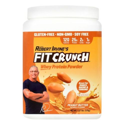 Fit Crunch Whey Protein Powder Peanut Butter 18 Servings by Fit Crunch Bars