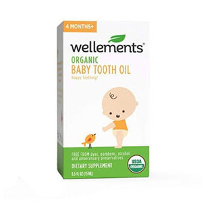 Baby Tooth Oil 0.5 Oz by Wellements (4754053136469)
