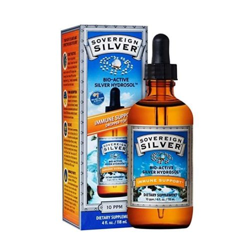 Bio-Active Silver Hydrosol 4 Oz by Sovereign Silver
