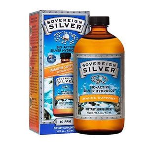 Bio-Active Silver Hydrosol 16 Oz by Sovereign Silver (4754054217813)