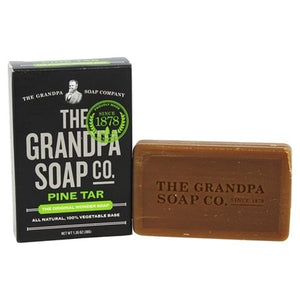 Pine Tar Soap Travel 1.35 Oz by Grandpa's Brands Company (4754056970325)