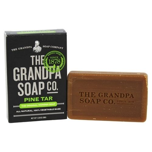 Pine Tar Soap Travel 1.35 Oz by Grandpa's Brands Company