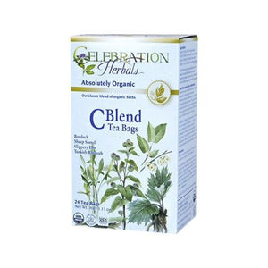 C Blend Tea Organic 24 Bags by Celebration Herbals (4754061852757)