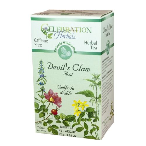 Devils Claw Root Wildcrafted Tea 55 grams by Celebration Herbals