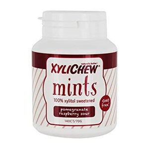 Xylichew Mint Pomegranate Raspberry Sour 140 Piece by Xylichew (4754065915989)