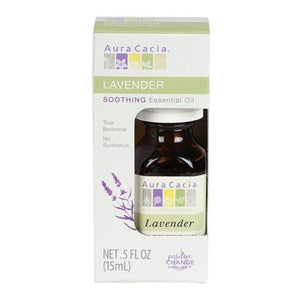 Essential Oil Lavender 0.5 Oz by Aura Cacia (4754077319253)