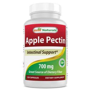 Apple Pectin 120 Caps by Best Naturals (4754091868245)