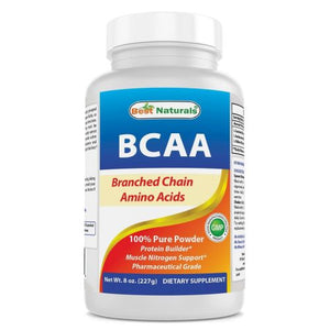 BCAA Powder 8 Oz by Best Naturals (4754095341653)