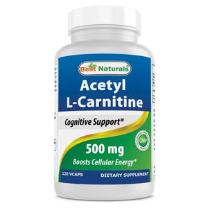 Acetyl L-Carnitine 120 Caps by Best Naturals (4754095833173)