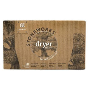 Stoneworks Dryer Sheets Oak Tree 50 Count by Grab Green (4754099273813)