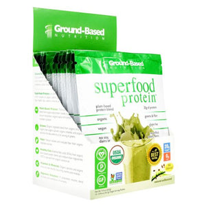 Superfood Protein Unflavored 10 Each by Ground-Based Nutrition (4754122014805)