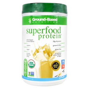 Superfood Protein Vanilla 20 Servings by Ground-Based Nutrition