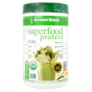Superfood Protein Unflavored 20 Servings by Ground-Based Nutrition (4754122113109)