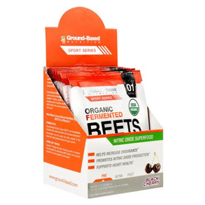Organic Fermented Beets Black Cherry 10 Each by Ground-Based Nutrition