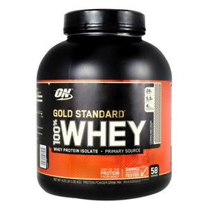 Gold Standard 100% Whey Cookies & Cream 4 lbs by Optimum Nutrition (4754122309717)