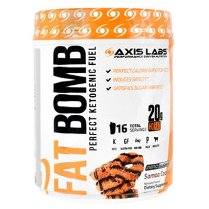 Fat Bom Samoa Cookie 16 Count by Axis Labs Inc