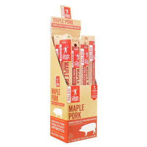 Maple Bacon Meat Stick 20 Count by Caveman Foods