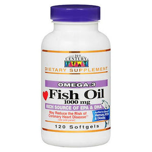 21st Century Fish Oil 120 Caps by 21st Century (4754137940053)