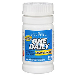 Daily Vitamin Mens Formula 100 Tabs by 21st Century (4754139873365)