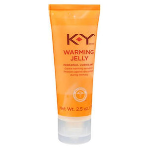 K-Y Warming Jelly Personal Lubricant 2.5 Oz by K-Y (4754155929685)