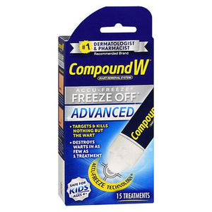 Compound W Accu-Freeze Freeze Off Advanced Wart 15 Each by Med Tech Products (4754161139797)