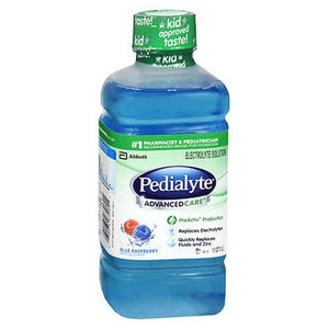 Pedialyte Advanced Care Electrolyte Solution Blue Raspberry 33.8 Oz by Pedialyte (4754165858389)