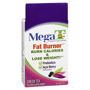 Mega-T Fat Burner Caplets 30 Tabs by Mega-T (4754186567765)