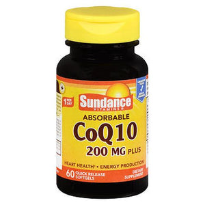 Sundance Absorbable CoQ10 Plus Quick Release Softgels 60 Tabs by Sundance (4754194268245)