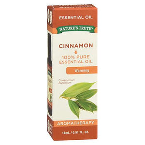 100% Pure Essential Oil Cinnamon .51 Oz by Natures Truth (4754209341525)