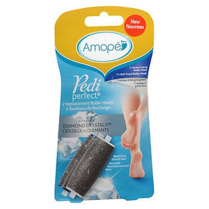 Amope Pedi Perfect Replacement Roller Heads 2 Each by Amope (4754217926741)