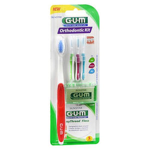 Gum Orthodontic Kit 1 Each by Gum (4754220712021)