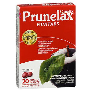Prunelax Ciruelax Dietary Supplement Minitabs 20 Tabs by Prunelax (4754225070165)