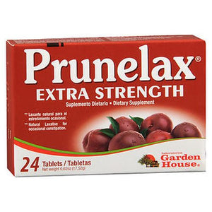 Prunelax Ciruelax Maximum Relief Dietary Supplement Tablets 24 Tabs by Prunelax (4754225135701)