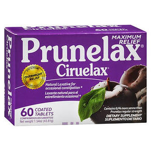 Prunelax Ciruelax Maximum Relief Dietary Supplement Tablets 60 Tabs by Prunelax (4754225168469)