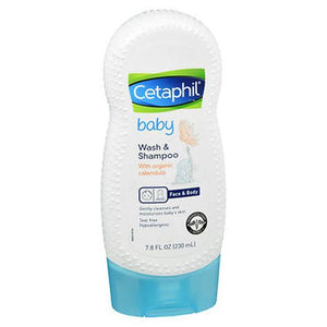 Cetaphil Baby Wash & Shampoo With Organic Calendula 7.8 Oz by Cetaphil (4754236932181)
