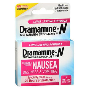 Dramamine-N Long Lasting Formula Tablets 1 Each by Med Tech Products (4754238275669)