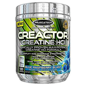 Creactor Blue Raspberry 0.95 lbs by Muscletech (2614587916373)