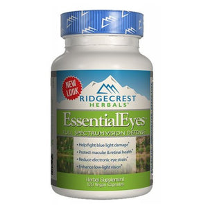 Essential Eyes 120 Vcaps by Ridgecrest Herbals (2590267146325)